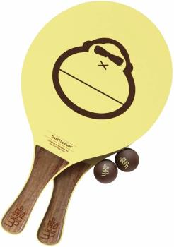 Sun Bum Paddleball Bat and Ball Set Beach Games, Yellow