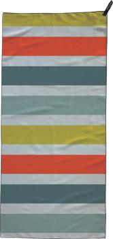 PackTowl Personal Towel Fast Drying Travel Towel, Body, Bold Stripe