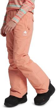 Burton Sweetart Pants Girl's Ski/Snowboard Trousers, M Pink Dahlia