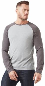 Craghoppers First Layer Long Sleeve Tee : XL, Grey & Black