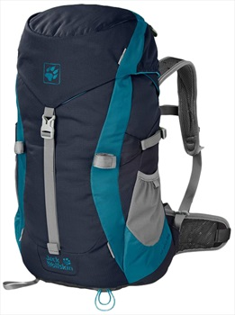 Jack Wolfskin Kids Alpine Trail Kid's Backpack: 20L, Midnight Blue