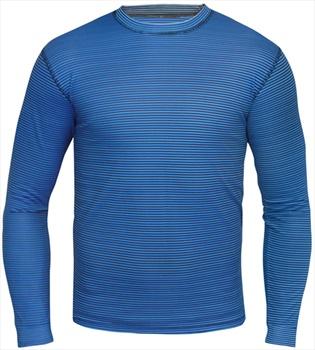 Manbi Supatec Lightweight Ski/Snowboard Thermal Top, XS Blue