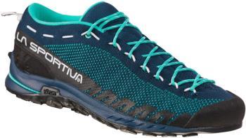 La Sportiva TX2 Womens Approach Shoe, UK 5 / EU 38 Opal/Aqua
