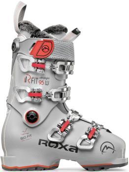 Roxa RFIT W 95 GripWalk Women's Ski Boots, 24/24.5 Grey/Coral 2022