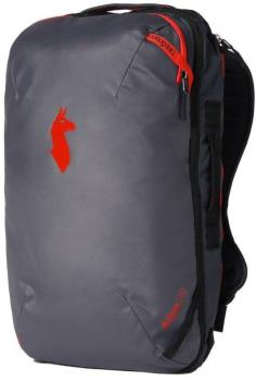 Cotopaxi Allpa 28L Travel Backpack, 28L Graphite & Fiery Red