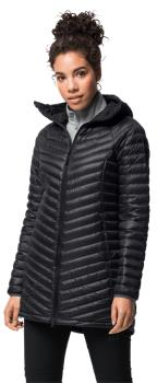 Jack Wolfskin Atmosphere Coat Women's Down Jacket, UK 14-16 Black
