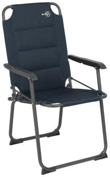 Bo-Camp Copa Rio Classic Air Foldable Camping Chair, Blue