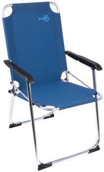 Bo-Camp Copa Rio Classic Foldable Camping Chair, OS Ocean