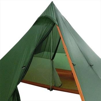 Nigor Half Size Innertent Wickiup 4 Tent Accessory, Os White/Orange