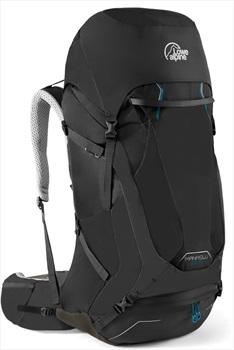 Lowe Alpine Manaslu 55:70 M/L Trekking Backpack, 70L Black