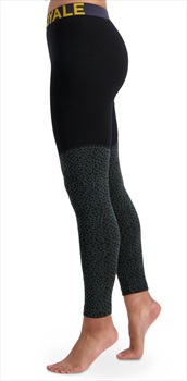 Mons Royale Womens Christy Women's Merino Wool Leggings, M Wild Thing