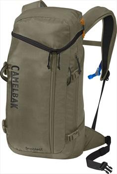 Camelbak Adult Unisex Snoblast Ski/Snowboard Backpack, 23L Burnt Olive