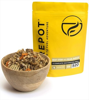 Firepot Beef Stew With Pearl Barley Camping & Backpacking Food