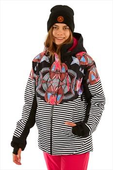 Roxy Frozen Flow Women's Snowboard/Ski Jacket M True Black Active Base