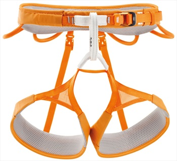 Petzl Adult Unisex Hirundos Harness Adult Climbing Harness, XS Orange
