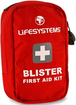 Lifesystems Blister No Expiry Compact First Aid Kit, 9 Items Red