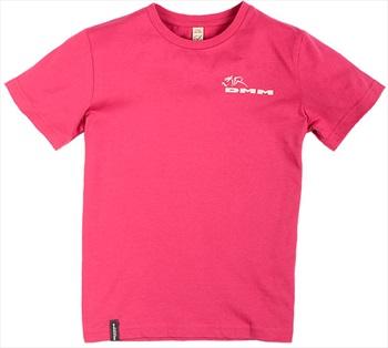 DMM Climb Now Homework Later Kids Rock Climbing T-Shirt, 9-10 Pink