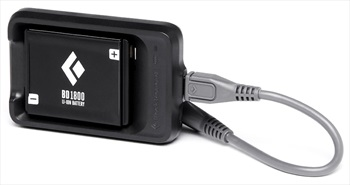 Black Diamond BD 1800 Battery Pack and Charger, OS Black