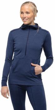Norrona Women's Wool Thermal Hoodie UK 14 Indigo Night