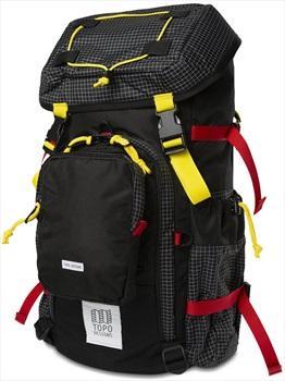 Topo Designs Subalpine Pack Hiking Backpack, 35L Black