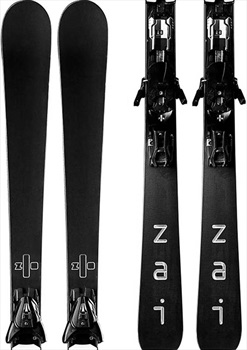 Zai Rubber Skis, 176cm Black