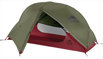 MSR Hubba NX Tent Solo Backpacking Shelter, 1 Man Green