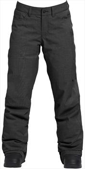 Burton Fly Pants Women's Ski/Snowboard Trousers, M True Black Heather