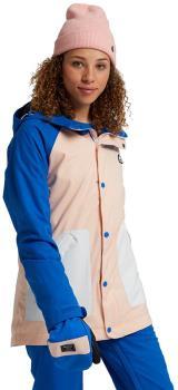 Burton Eastfall Women's Ski/Snowboard Jacket S Lapis/Peach/Stout