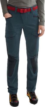 Klattermusen Misty 2.0 Women's Softshell Trousers UK 10 Midnight Blue