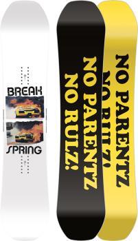Capita Spring Break Powder Twin Surf Rocker Snowboard, 162cm 2022