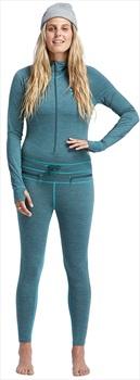 Airblaster Womens Womens Merino Ninja Thermal Base Layer Suit, L Night