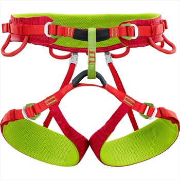 Climbing Technology Anthea Women's Rock Climbing Harness, L-XL Red