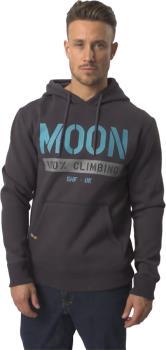 Moon 159 100% Climbing Pullover Hoodie, L Ebony