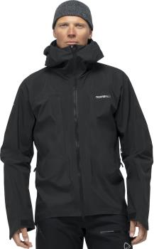 Norrona Trollveggen Gore-Tex Pro Light Waterproof Jacket, M Caviar