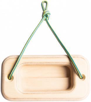 Ash Climbing Offcut Wooden Single Hangboard, Birch Ply