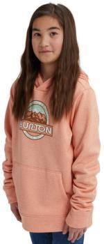 Burton Kid's Kid's Oak Pullover Ski/Snowboard Hoodie, M Pink Dahlia