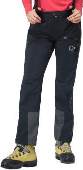 Norrona Trollveggen Pro Light Women's Gore-Tex Trousers, UK 8 Caviar