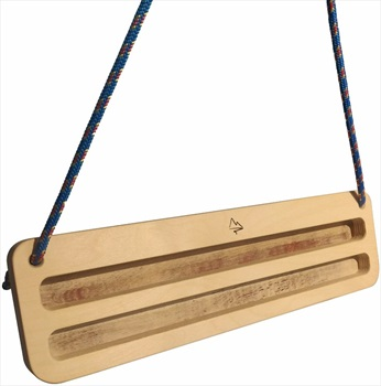 Mountain Wood Training Portable Wooden Hangboard, Double Birch Plywood