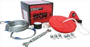 Slackers Eagle Zipline Zipline Set, 30m X 5.1mm Red