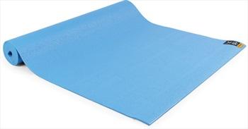 Yoga Mad Warrior II Yoga/Pilates Mat, 4mm Light Blue