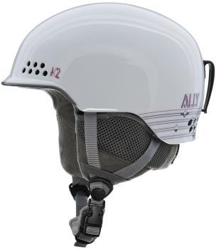K2 Adult Unisex Ally Women's Ski/Snowboard Helmet, S White