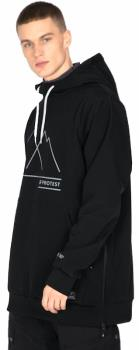 Protest Melton 20 Men's Ski/Snowboard Jacket, XL True Black