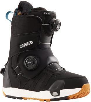 Burton Felix Step On Womens Snowboard Boots, UK 5 Black 2022