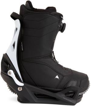Burton Ruler Step On Snowboard Bindings & Boots, UK 7.5 Black X 2021