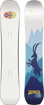 Nidecker Babs Hybrid Camber Snowboard, 156cm 2020