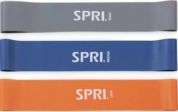 SPRI Mini Loop Bands Fitness Resistance Band Kit Light/Medium/Heavy