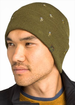 Prana Wild Now Beanie Hat, OS Cargo Beer
