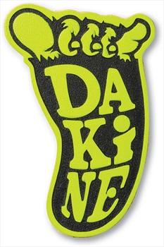 Dakine Shakasquatch Snowboard Stomp Pad Traction Mat, Black/Citron