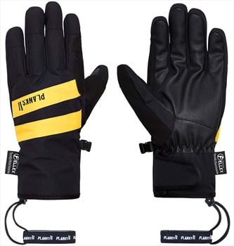 Planks Peacemaker Insulated Ski/Snowboard Gloves, L Black