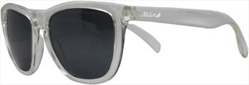 Melon Layback Smoke Polarized Sunglasses, Frost